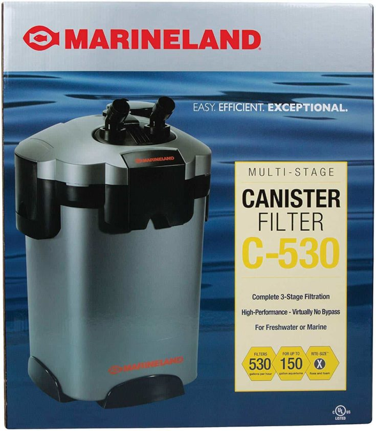 Multi-Stage Canister Filter C-530 packaging box