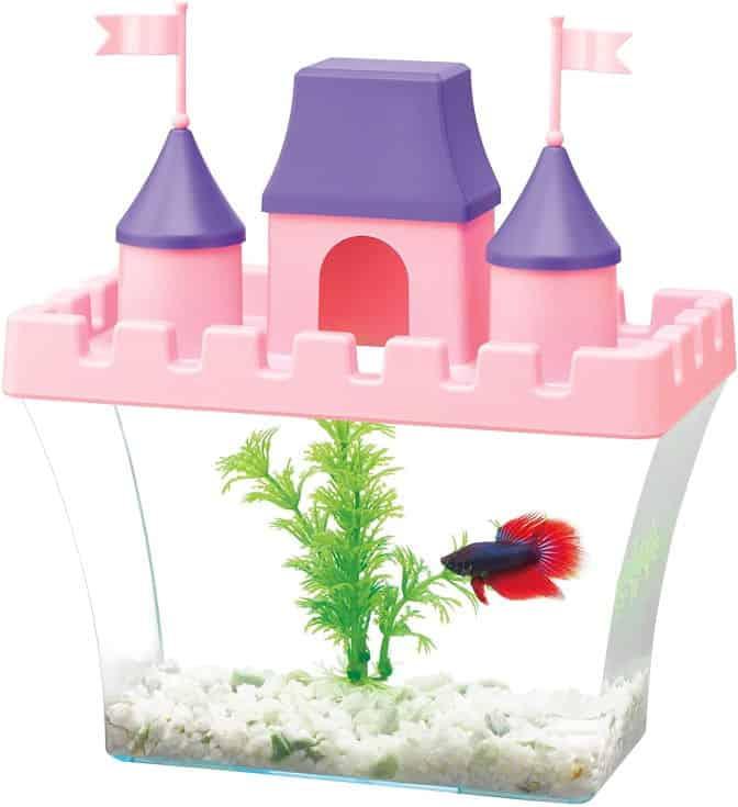 Aqueon Princess Castle Aquarium Kit, 8.2 x 4.8 x 8.5 (100530908)